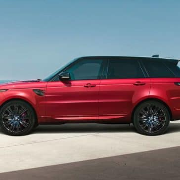 2019 Land Rover Range Rover Sport Red
