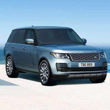 2019 Range Rover Parked