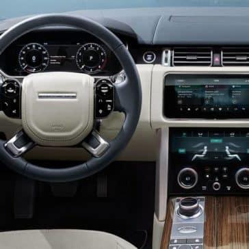 2019 Range Rover Dash