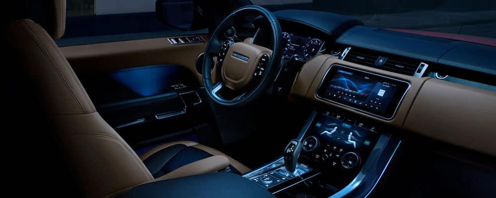 2019 range rover sport interior front