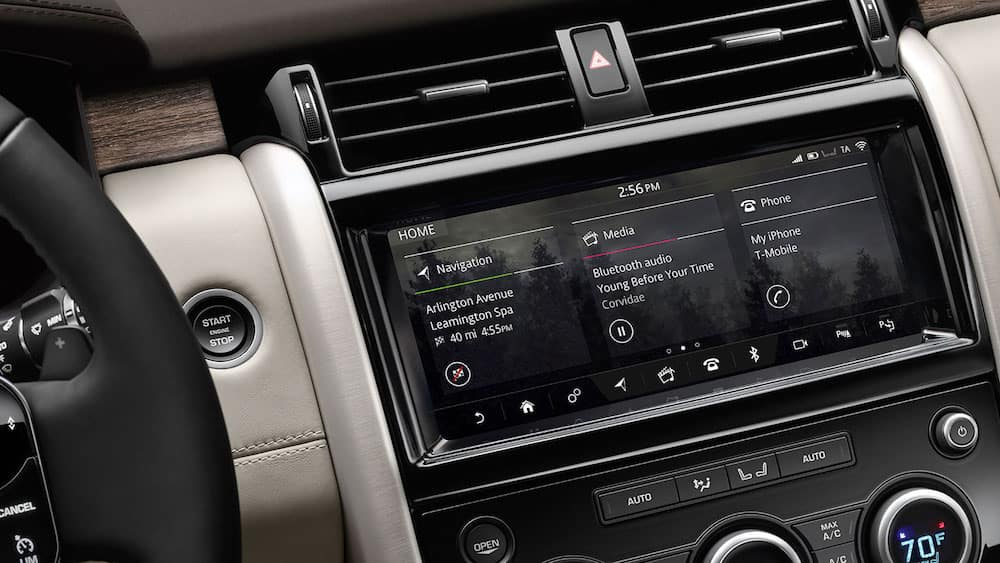 2019 land rover discovery infotainment