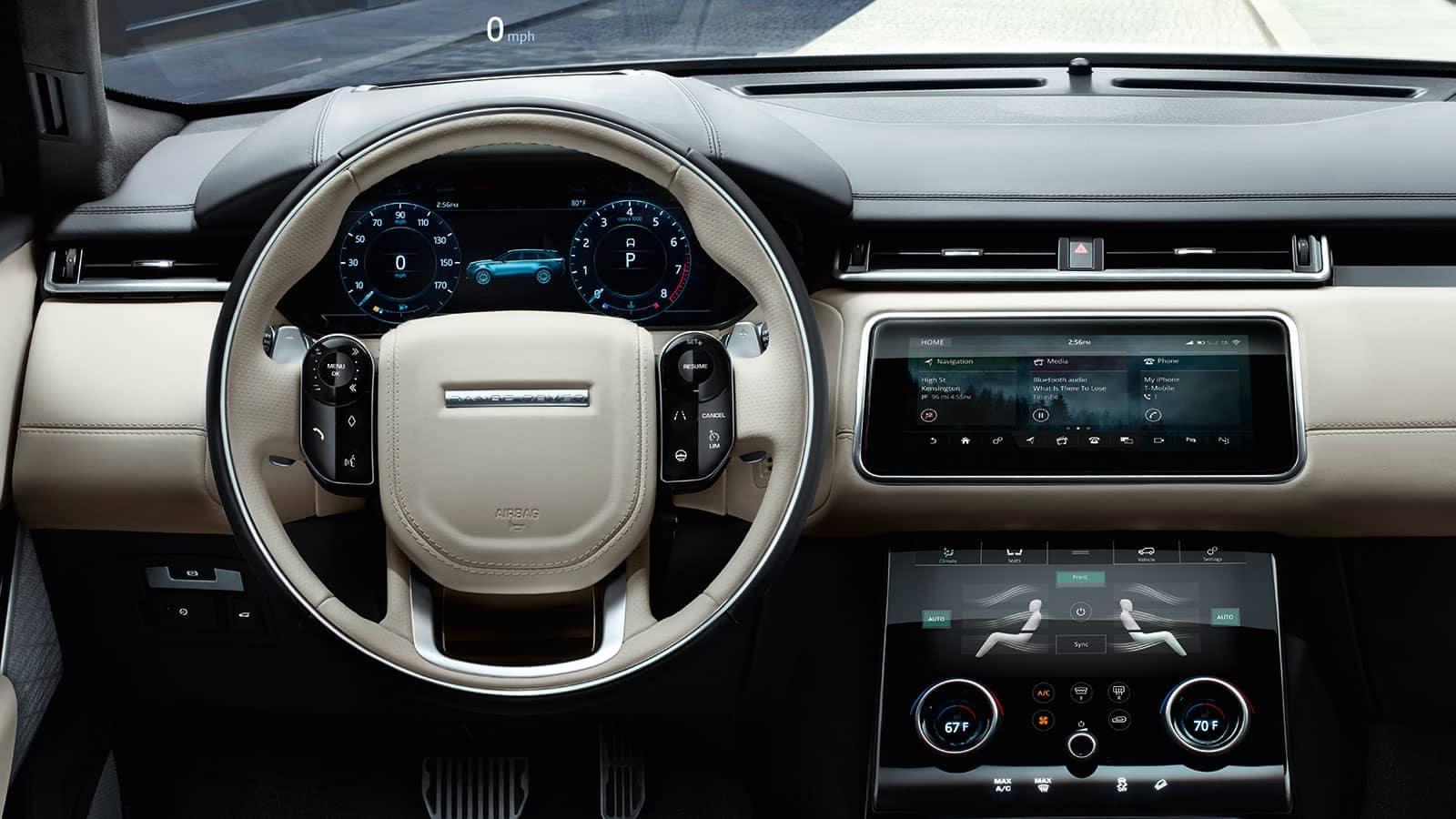 2019 Land Rover Velar Dash