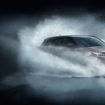 2019 Land Rover Velar Splashing