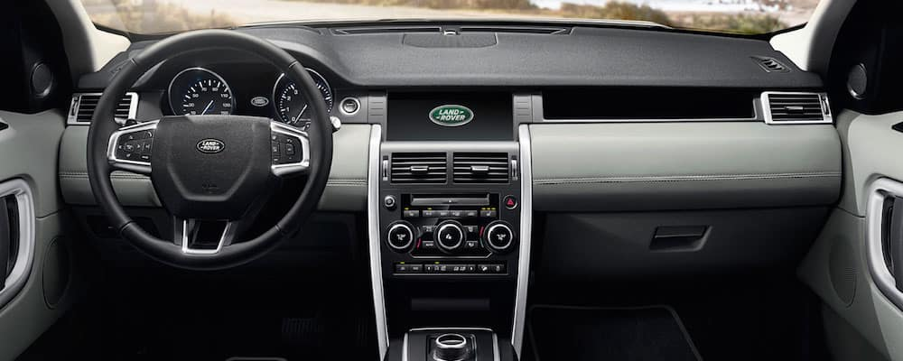 2019 discovery sport dash and steering wheel