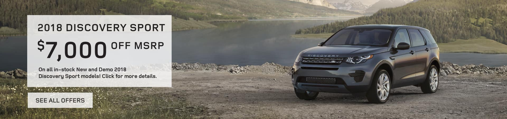 Autobahn Land Rover - Discover Sports $7,000 off MSRP