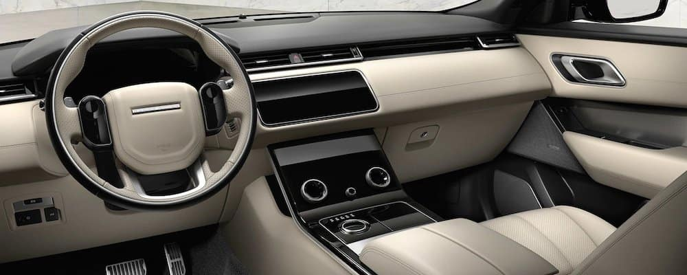 2019 velar front interior view