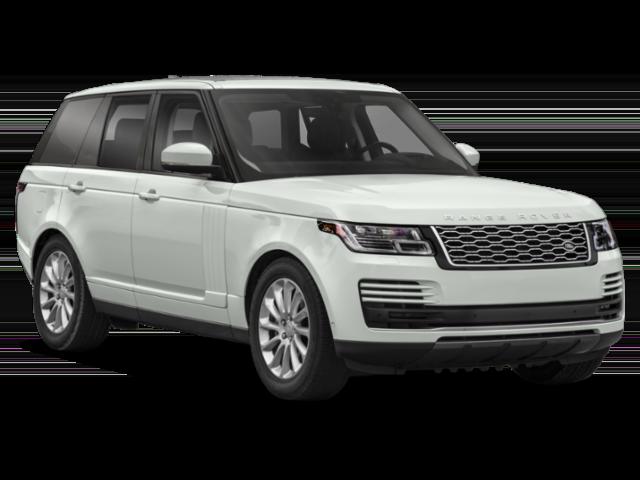 White 2019 Range Rover
