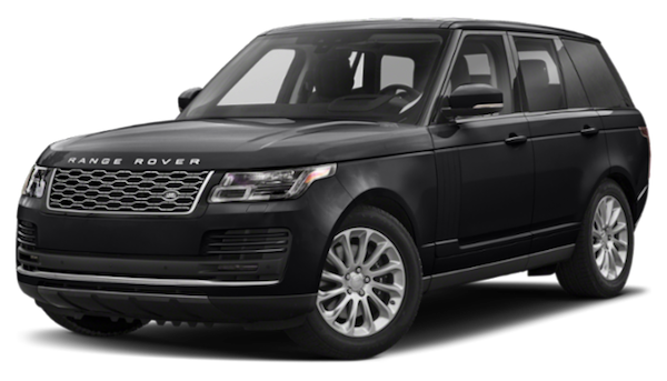 Black 2020 Range Rover HSE