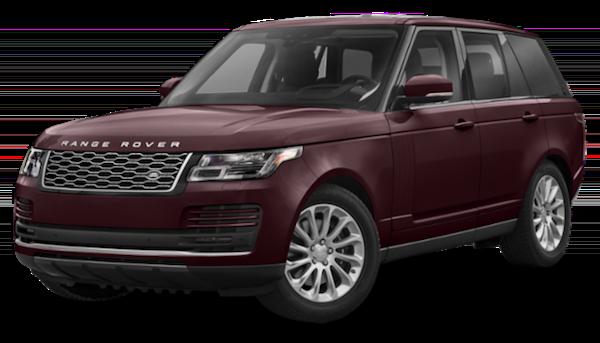 Maroon 2019 Range Rover 525 HSE