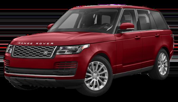 Red 2020 Range Rover SVAutobiography