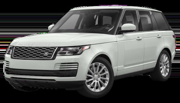 White 2020 Range Rover