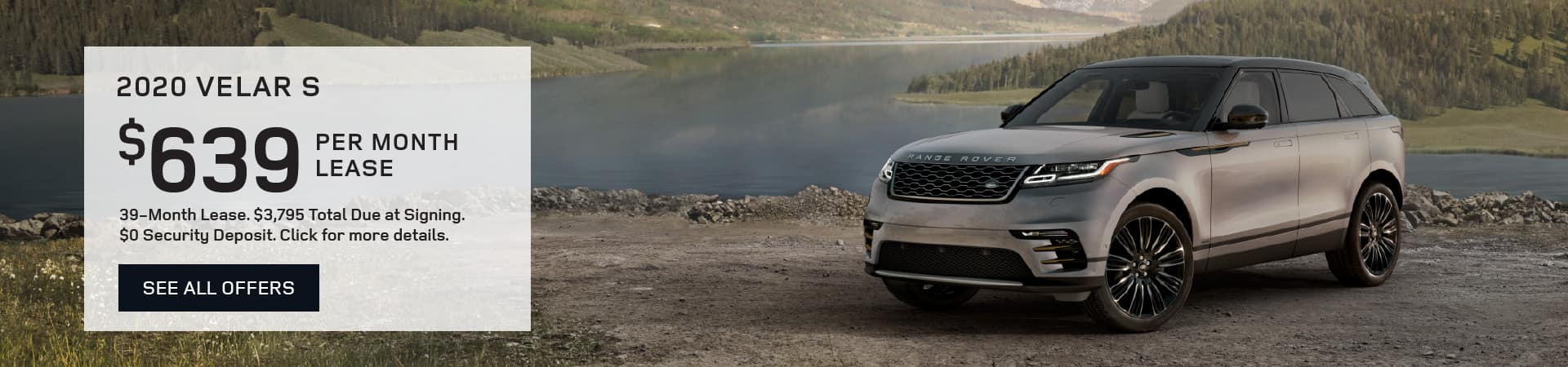 Autobahn Land Rover Fort Worth Lease Special - Velar S $639