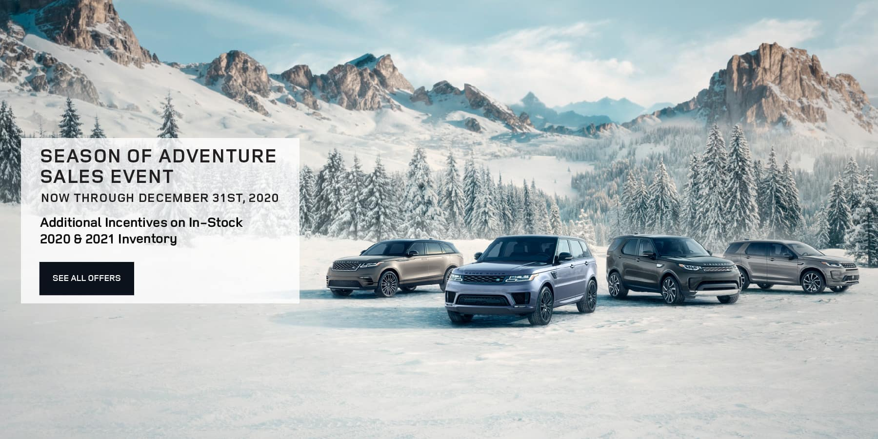 Autobahn Land Rover Fort Worth | Season of Adventure Sales Event