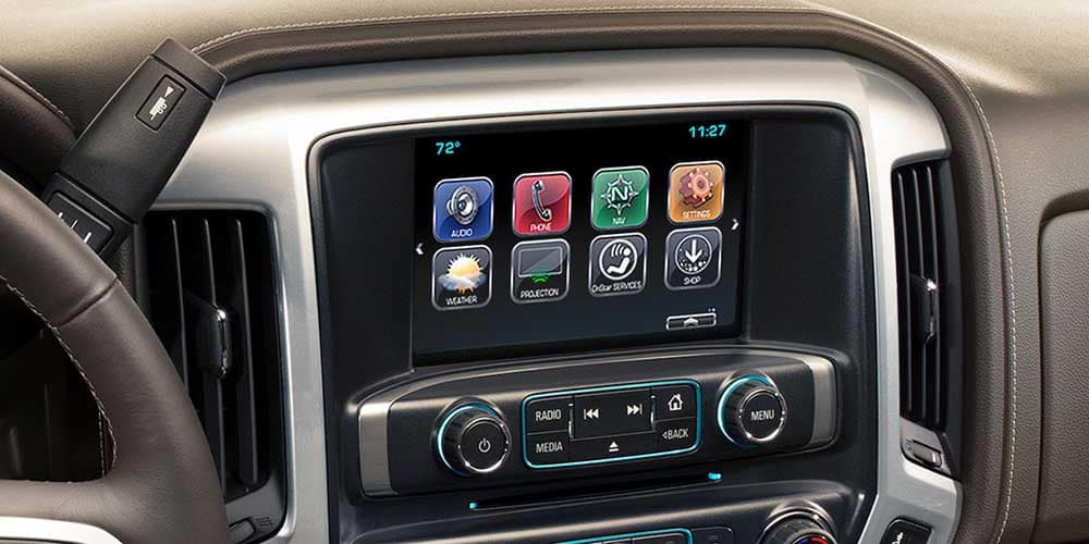 2018 Chevy Silverado Touchscreen