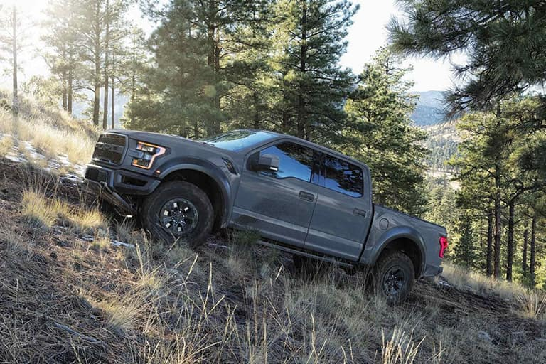 2018 Ford F-150 Uphill