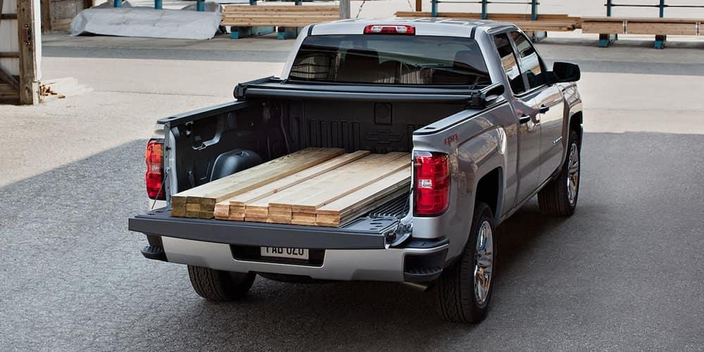 2018 Chevy Silverado Lumber