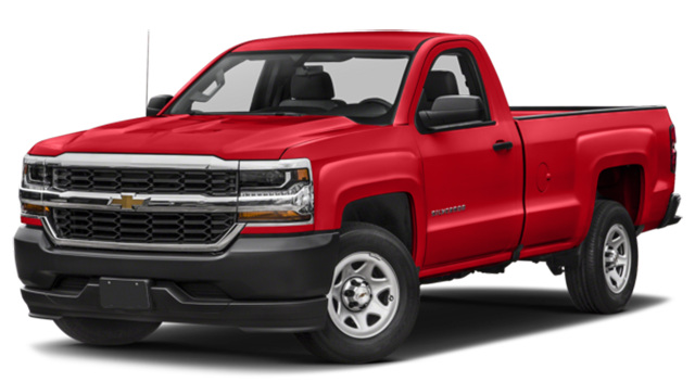 2018 Chevy Silverado 1500 Red