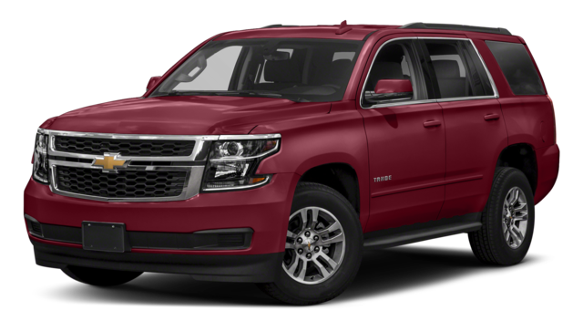 2018 Chevy Tahoe Red