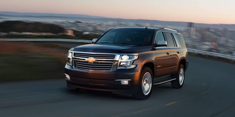 2018 Chevy Tahoe Driving