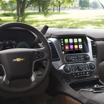 2018 Chevy Tahoe Dash