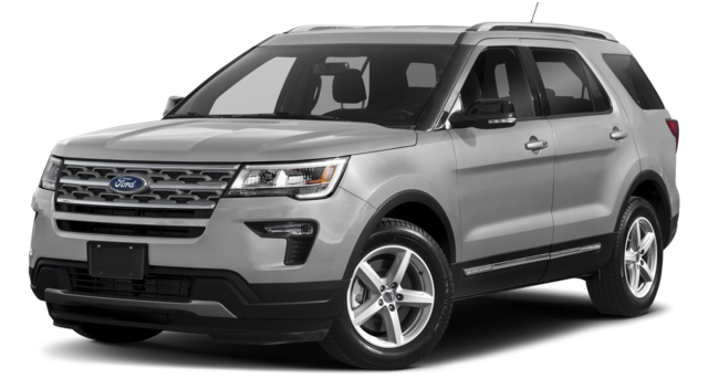 2018 Ford Explorer SIlver