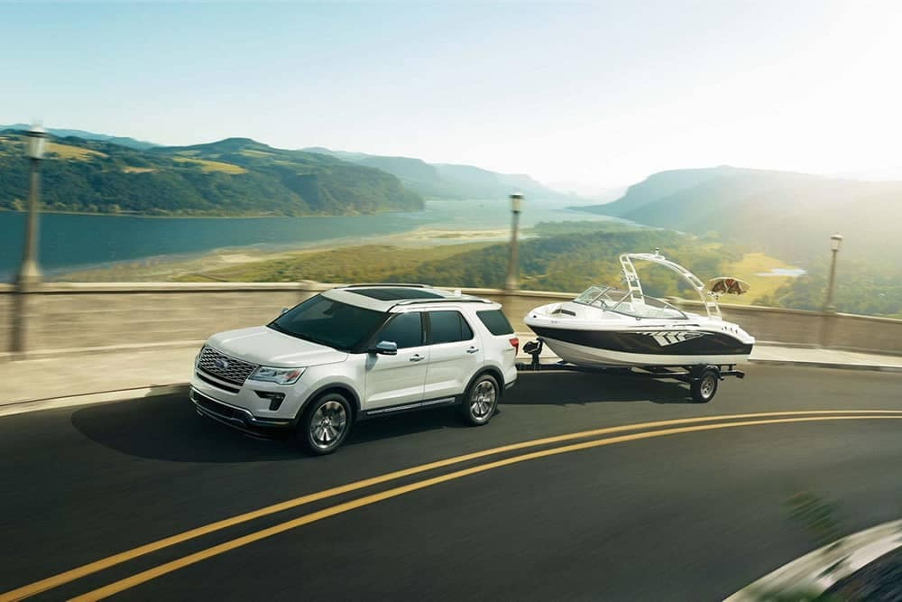 2018 Ford Explorer With Boat