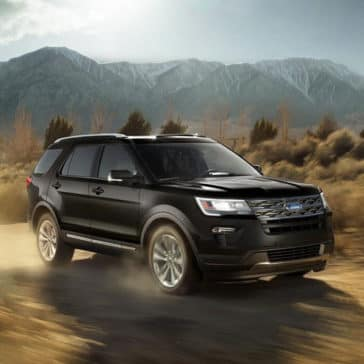 2018 Ford Explorer Offroad