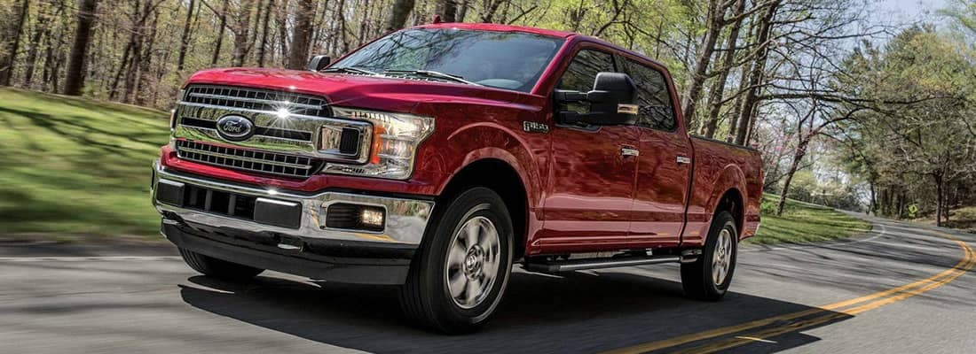 2018 Ford F-150 Driving