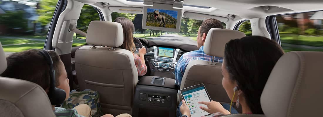 2018 chevrolet tahoe interior features bayer auto group for Bayer motor company ford