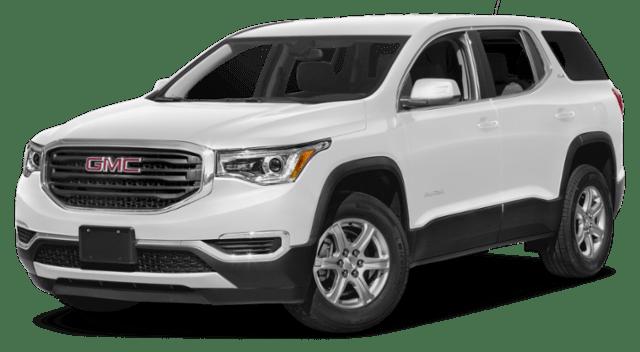 2019 GMC Acadia White