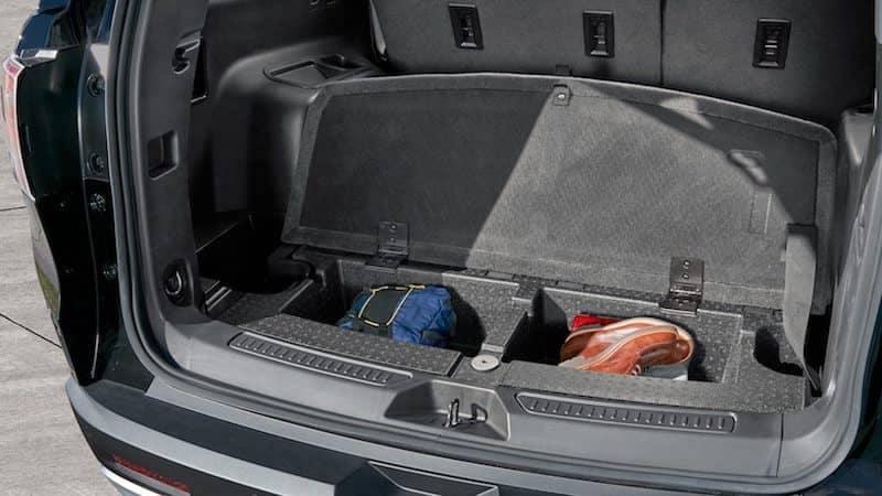 2019 GMC Acadia Interior Storage