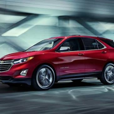 2019 Chevrolet Equinox Exterior in red