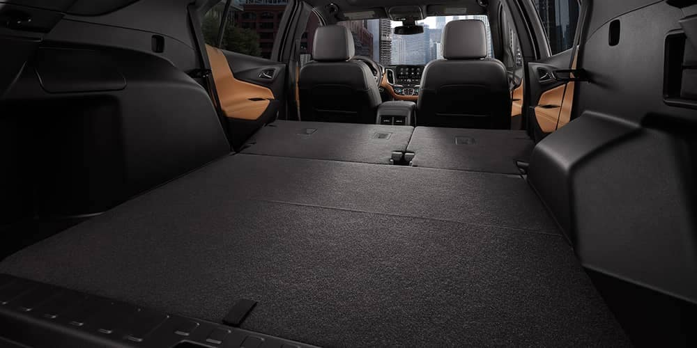 2019 Chevrolet Equinox Interior folded seats