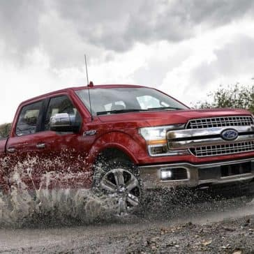 2019 Ford F-150 Splashing