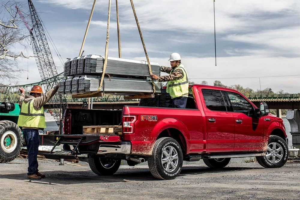 2019 Ford F-150 Being Loaded