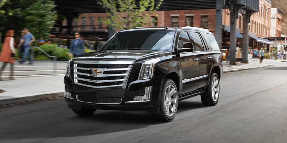 2019 Cadillac Escalade Driving