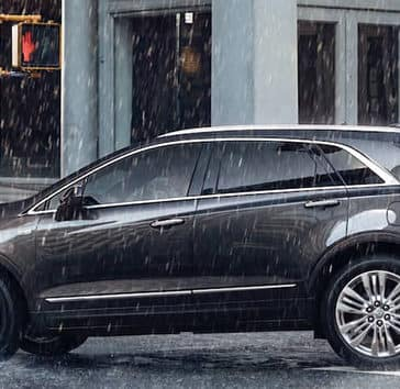 2019 Cadillac XT5 In the Rain