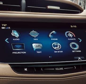 2019 Cadillac XT5 Touchscreen