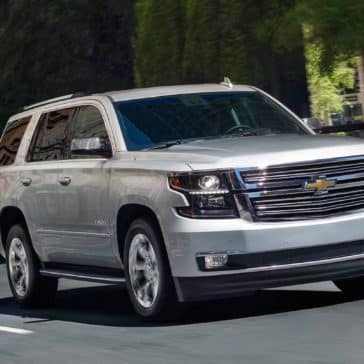 2019 Chevy Tahoe Driving