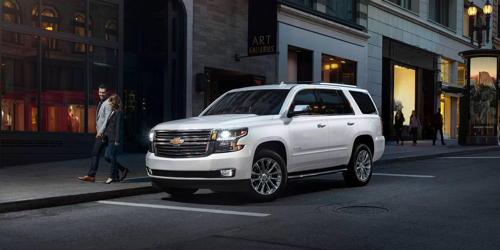 2019 Chevy Tahoe Parked