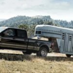 Ford F250, Black Exterior, Towing