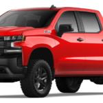 2020 Chevy Silverado, Red Exterior
