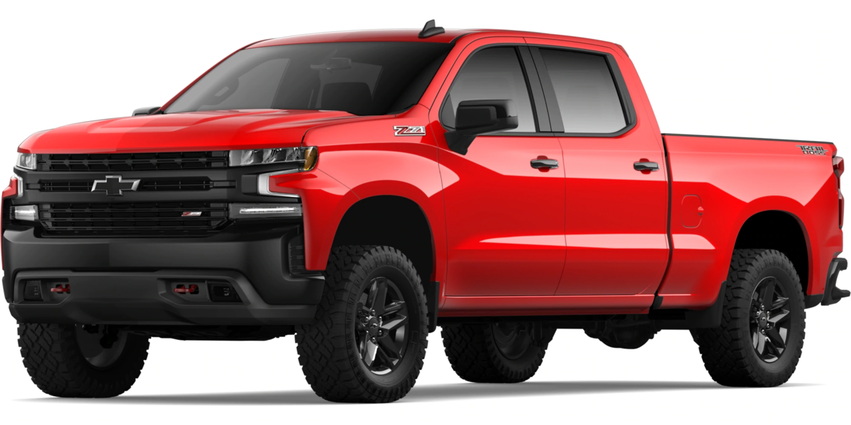 2020 Chevy Silverado, Red Exterior