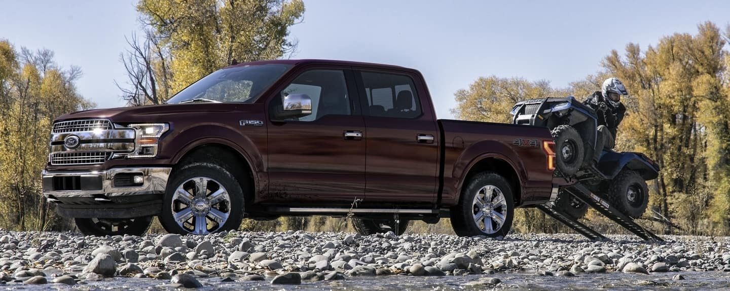 Ford F150 with Accessories