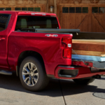 2021 Chevy Silverado, Red Exterior
