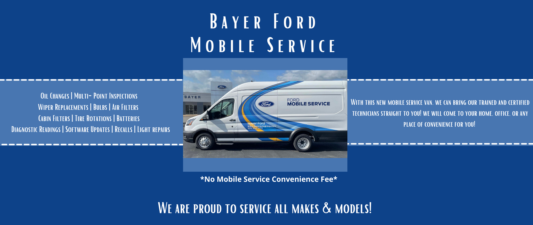 New Bayer Ford Mobile