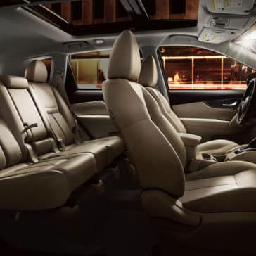 2017 Nissan Rogue interior seating