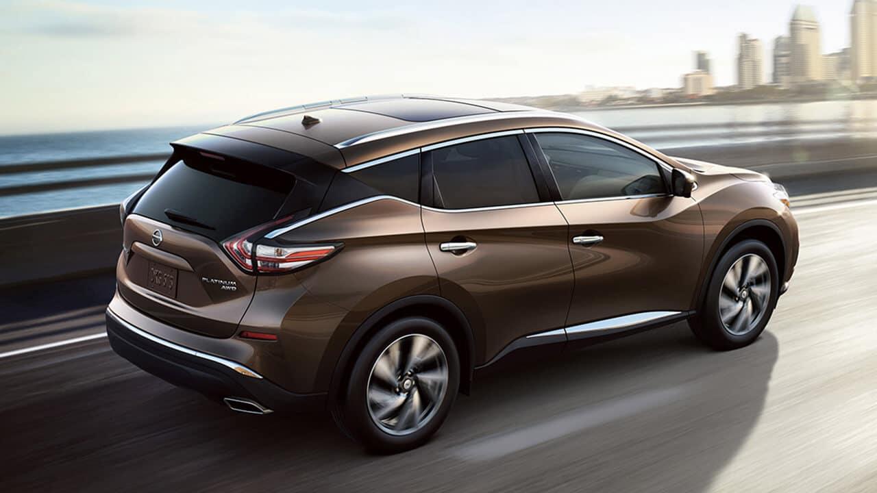 2017 Nissan Murano rear side exterior