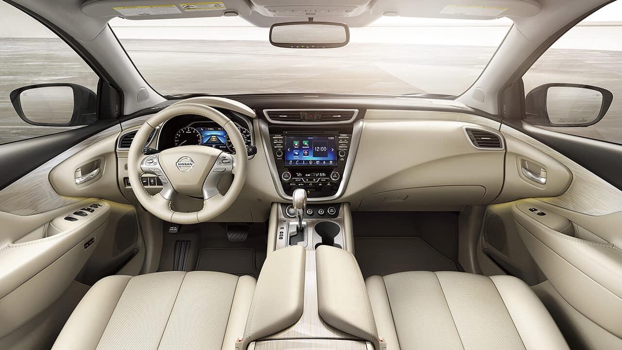 2017 Nissan Murano Dashboard