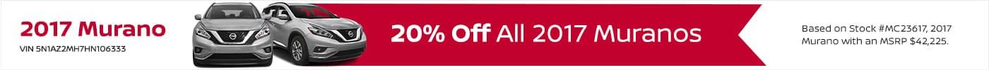 Murano December Offer Beau Townsend Nissan